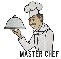 Master Chef embroidery design