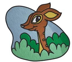 Cute Deer embroidery design
