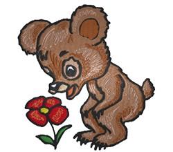 Bear Cub embroidery design