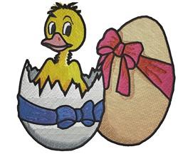 Easter Hatchling embroidery design