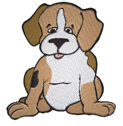 Cute Puppy embroidery design