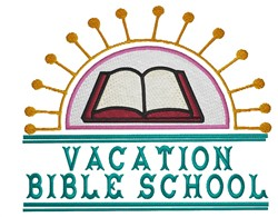 Vacation Bible School embroidery design