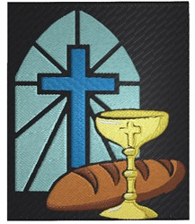 Communion embroidery design