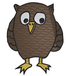 Powerful Owl embroidery design