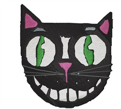 Funny Cat embroidery design