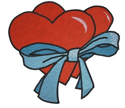 Hearts In Love embroidery design
