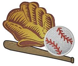 Baseball Gear embroidery design