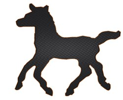 Appaloosa Horse embroidery design