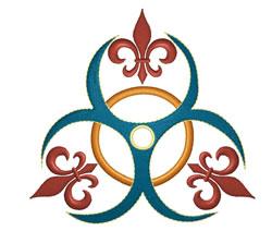 Fleur De Tattoo embroidery design