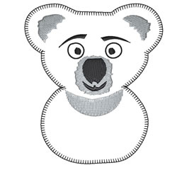 Cute Koala embroidery design