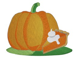 Pumpkin  Pie embroidery design