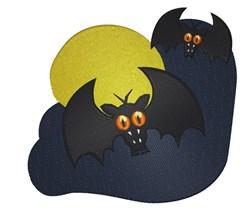 Vampire Bats embroidery design
