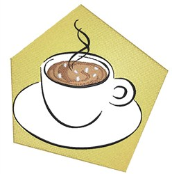 Cup Of Hot Chocolate embroidery design