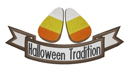 Halloween Tradition embroidery design