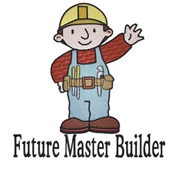 Future Master Builder embroidery design