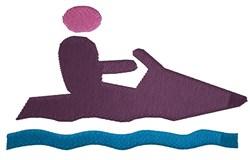 Jet Ski embroidery design