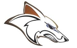 Coyote Head embroidery design