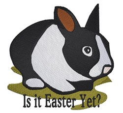 Easter Yet embroidery design