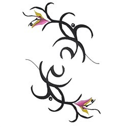 Fancy Flowers embroidery design
