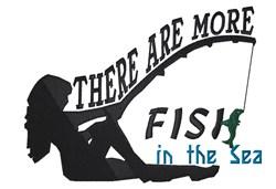 More Fish embroidery design
