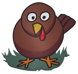 Turkey Chick embroidery design