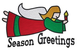 Season Greetings embroidery design