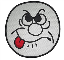 Silly Face embroidery design