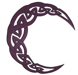 Tribal Moon embroidery design