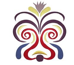 Swirly Design embroidery design