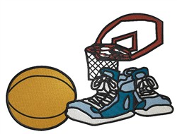 Basketball Gear embroidery design