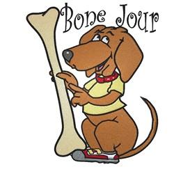 Bone Jour embroidery design