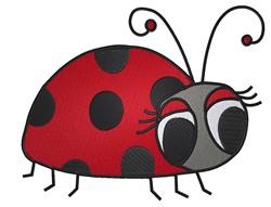 Little Ladybug embroidery design