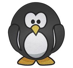 Cute Penguin embroidery design