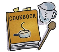 Cooking Gear embroidery design