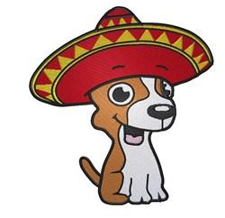 Cute Chihuahua embroidery design