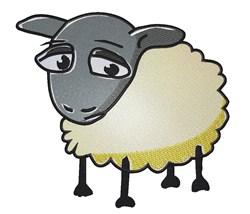 Sad Lamb embroidery design