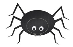 Spider Bug embroidery design