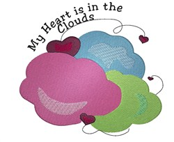 In The Clouds embroidery design