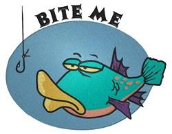 Bite Me Fish embroidery design