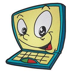 Cartoon Laptop embroidery design