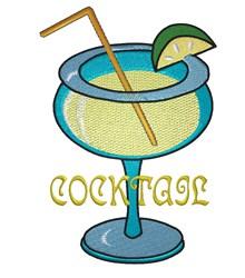 Margarita Cocktail embroidery design