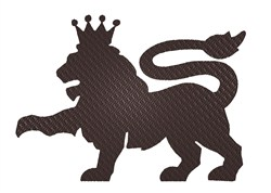 Royal Lion embroidery design