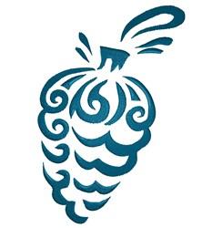 Ornament Swirl embroidery design