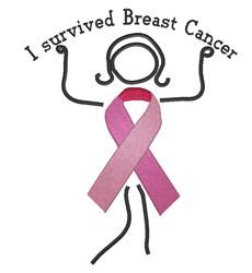 Breast Cancer Survivor embroidery design