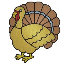 Turkey Bird embroidery design
