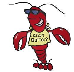 Got Butter embroidery design