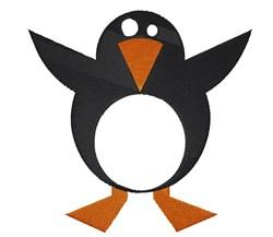 Cartoon Penguin embroidery design