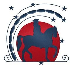 Patriotic Horse embroidery design