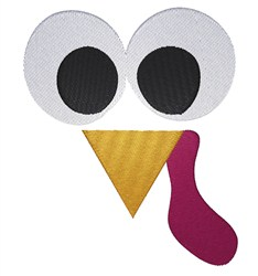Turkey Face embroidery design