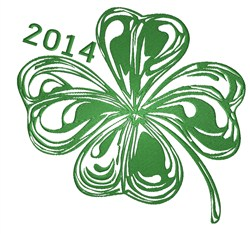 2014 Clover embroidery design